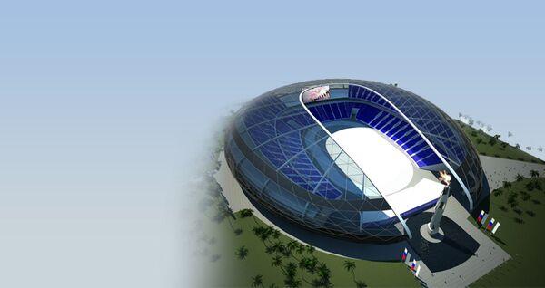 ГК Олимпстрой - Центральный стадион (олимпийский объект)