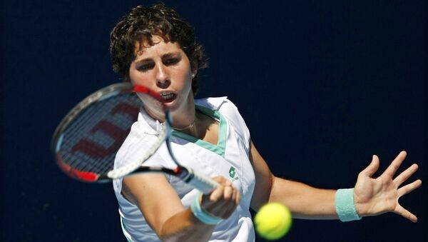 Испанская теннисистка Карла Суарес-Наварро. Архивное фото