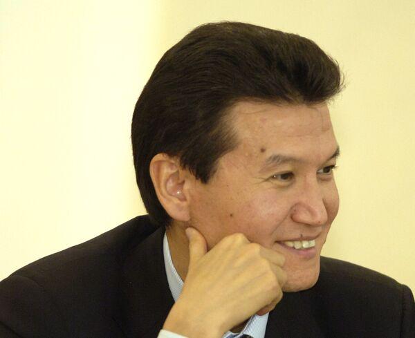 Кирсан Илюмжинов