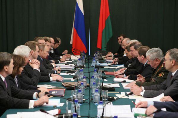 Российско-белорусские двухсторонние переговоры