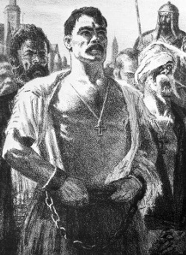 Иллюстрация Евгения Кибрика к повести Николая Гоголя Тарас Бульба