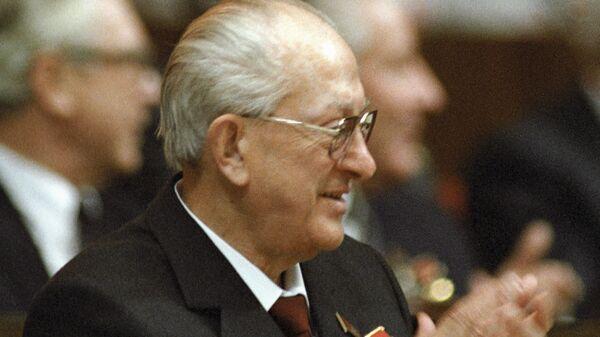 Генеральный Секретарь ЦК КПСС Ю. Андропов