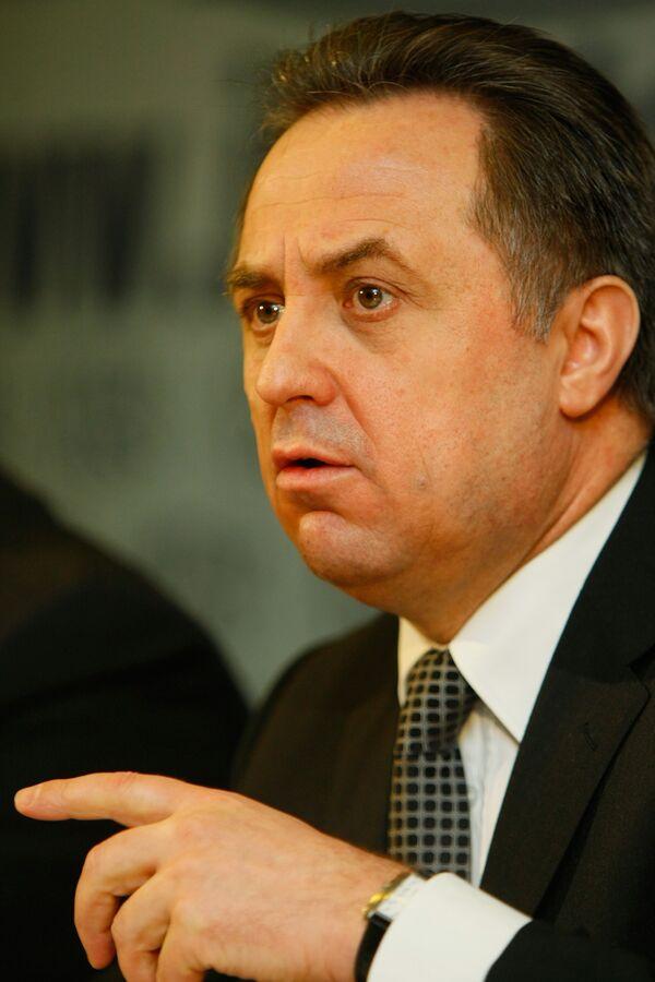 Мутко отметил, что государство в лице министерства должно побуждать к тому, чтобы спорт был чистым