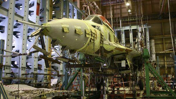 Российская самолетостроительная корпорация МиГ. Архивное фото