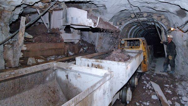 Добыча урановых руд. Архив