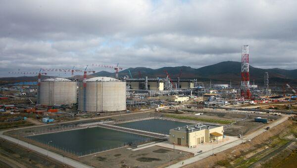 Завода по сжижению природного газа (СПГ). Архивное фото