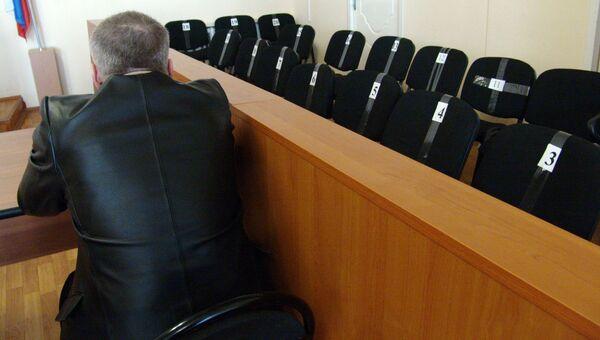 Места для присяжных заседателей. Архивное фото