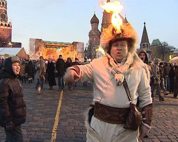 Масленица на Васильевском спуске – сюрпризы для москвичей