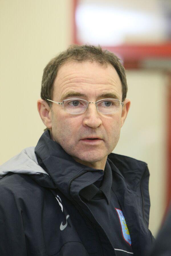 Главный тренер Астон Виллы Мартин О'Нил