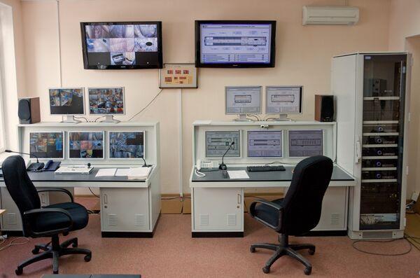 Центр управления комплексом Марс-500
