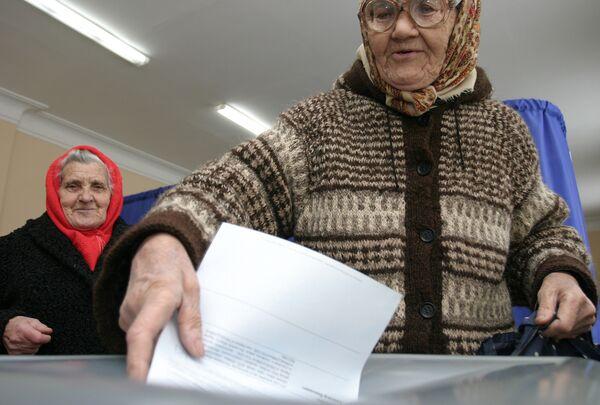 По предварительным данным, выборы мэра Партизанска выиграл Галущенко