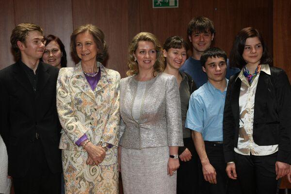 Супруга президента России посетила Высшую музыкальную школу имени королевы Софии