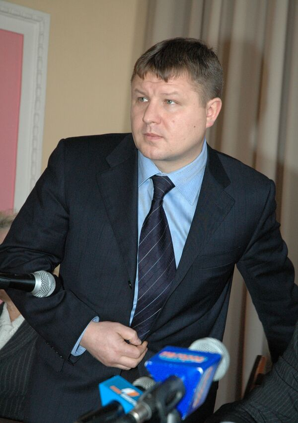 Бывший вице-премьер правительства Республики Алтай Анатолий Банных