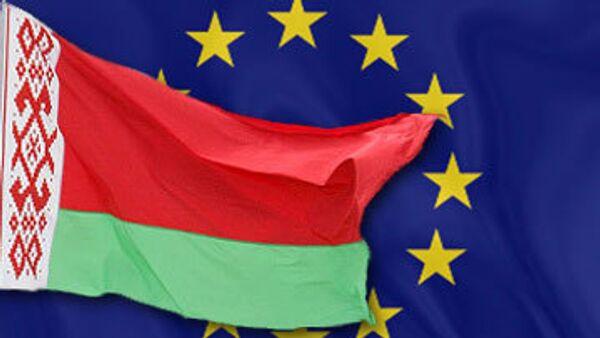 Флаг ЕС и Белоруссии