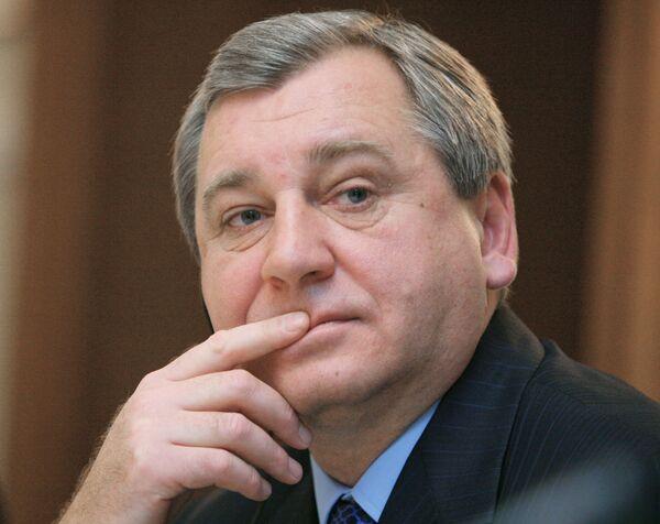 Б.Алешин на презентации по поводу дня экономики «Тюрингия-Россия»