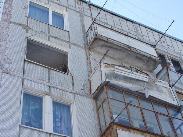 Взрыв в жилом доме в Хабаровске