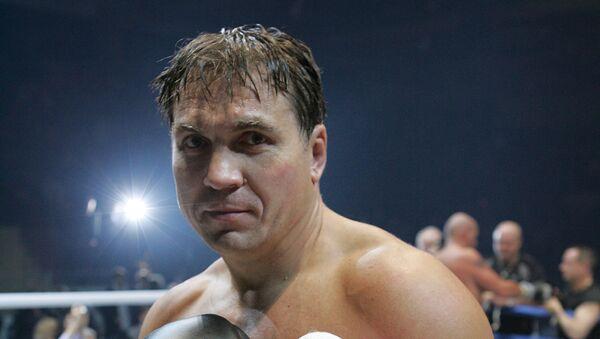 Российский боксер Олег Маскаев