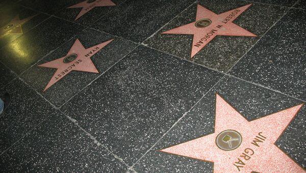 Аллея звезд в Голливуде. Архивное фото
