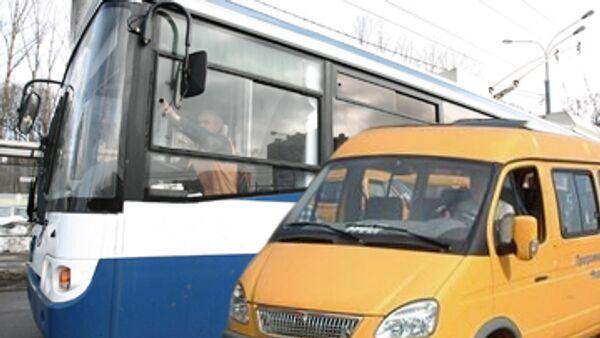 Водители Махачкалы продолжили забастовку, выдвинув новые требования