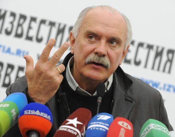 Председатель Союза кинематографистов России Никита Михалков