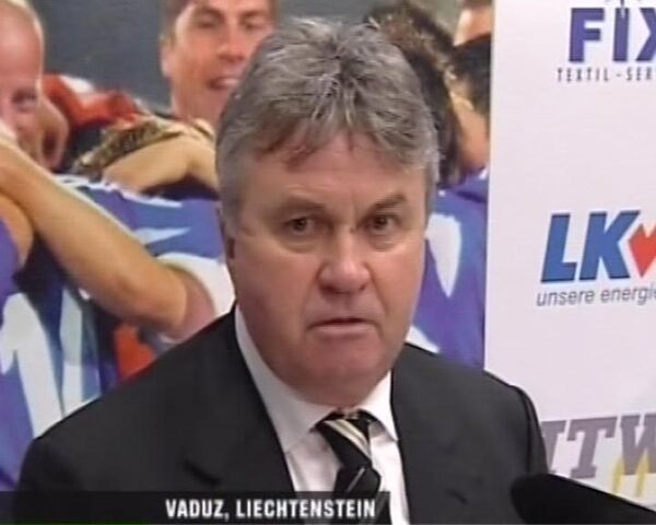 Хиддинк о матче с Лихтенштейном: мы действовали неудачно