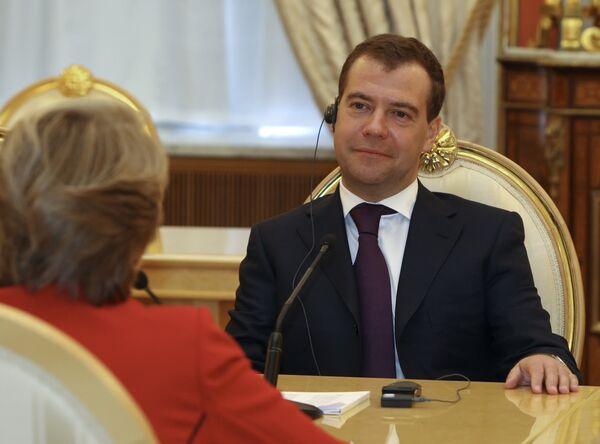 Медведев: процесс вступления России в ВТО не должен длиться бесконечно