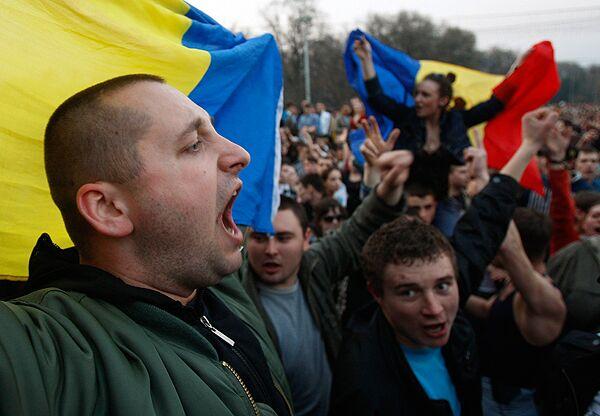 Молдавия вводит визовый режим с Румынией