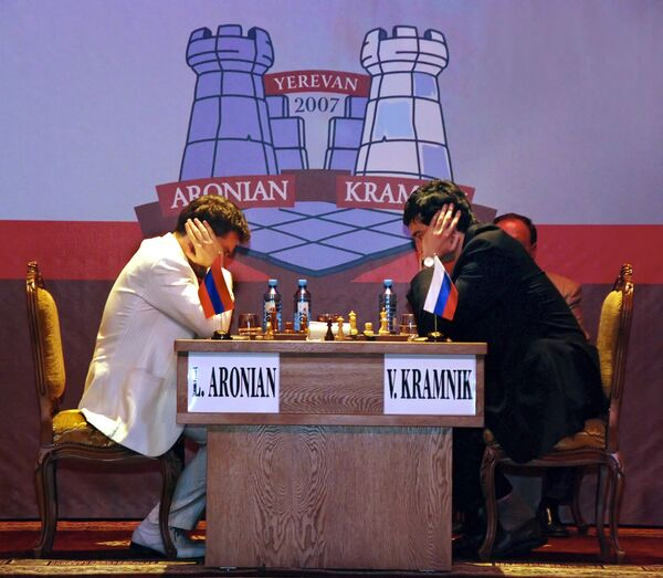 Шахматист Аронян завершил победный для себя турнир в Бильбао ничьей