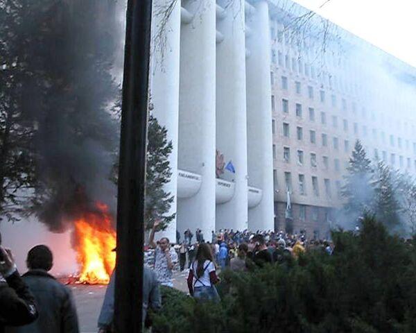 Массовые беспорядки в Молдавии