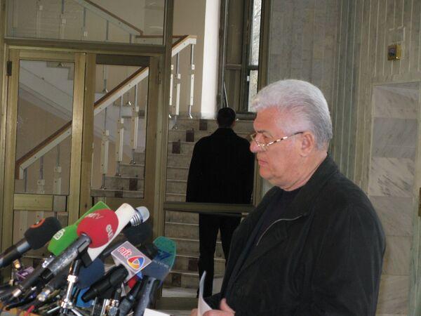 Президент Молдавии Владимир Воронин. Архив