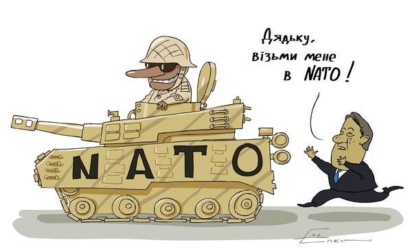 Ющенко уверен, что Украина захочет вступить в НАТО