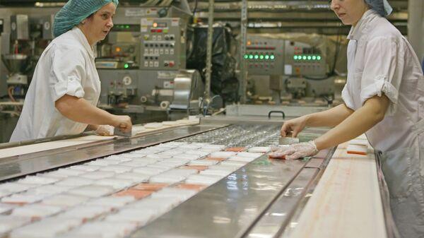 Производство крабовых палочек