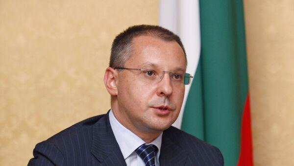 Бывший премьер-министр Болгарии Сергей Станишев. Архив