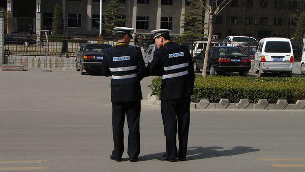 Китайская полиция. Архивное фото