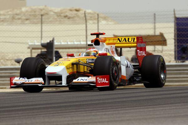 Болид Фернандо Алонсо на Гран-при Бахрейна
