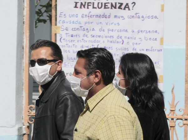 Эпидемия гриппа свиней в США и Мексике