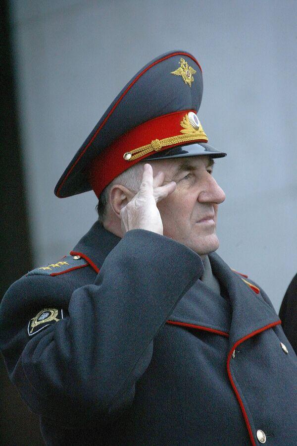 Начальник ГУВД города Москвы генерал-полковник Владимир Пронин