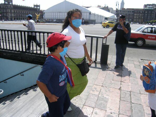 Эпидемия свиного гриппа в Мексике