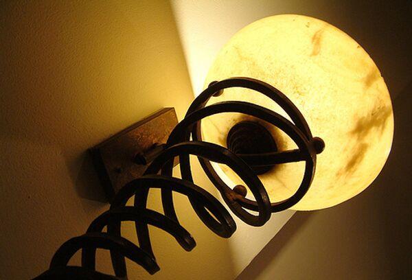 Лампа. Архивное фото