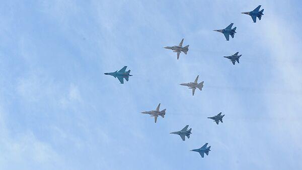 Су-34 и Су-24М. Архивное фото