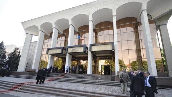 Здание парламента Молдавии. Архивное фото
