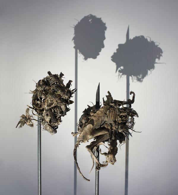 Скульптуры с обманчивыми тенями впервые в России представят британские художники