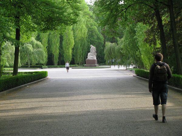 В Трептов-парке в Берлине