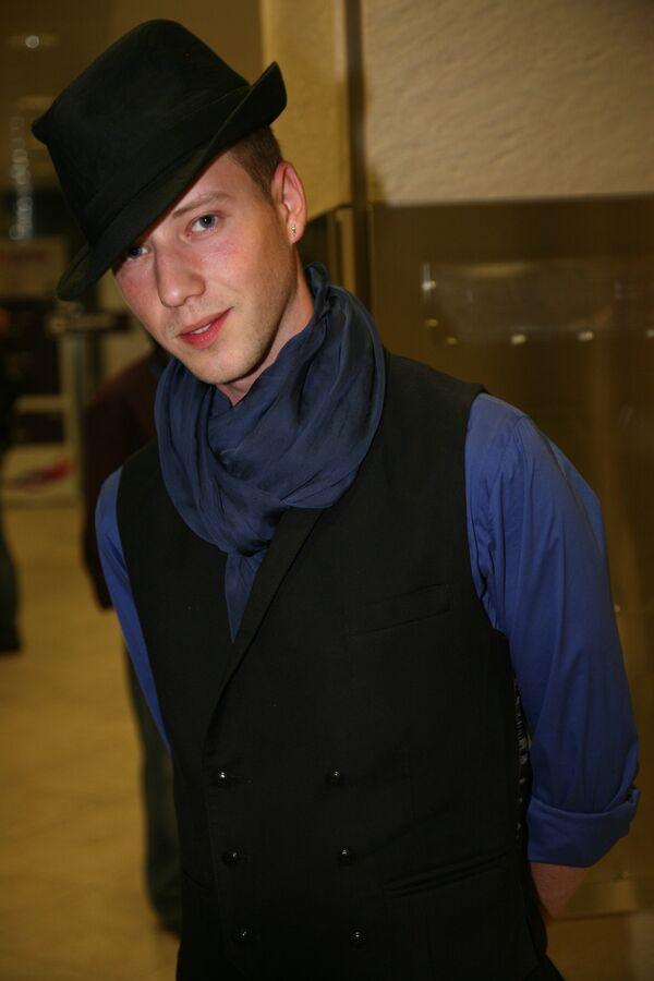 Саша Сон на белорусской вечеринке Евровидения-2009 в Евродоме