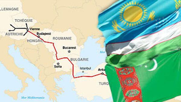 Туркмения, Казахстан и Узбекистан не подписали декларацию по Nabucco
