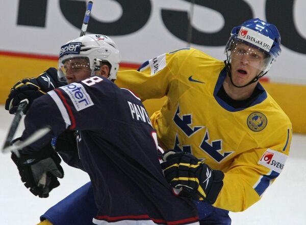 Чемпионат мира по хоккею. Матч за третье место. США - Швеция
