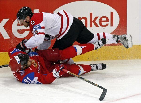 Финальный матч ЧМ-2009 по хоккею Россия - Канада