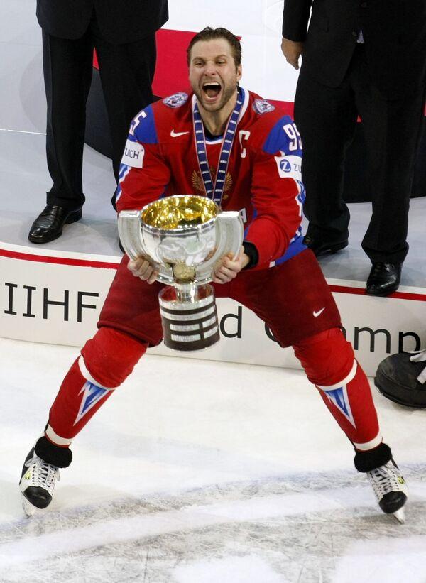 Капитан сборной России Алексей Морозов