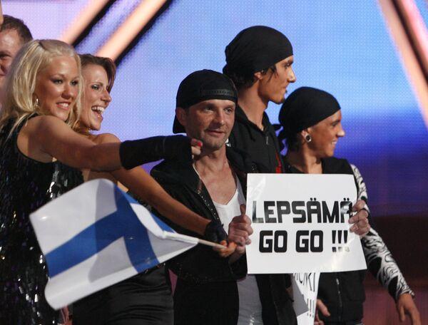 Финский дуэт Waldo's People вышел в финал конкурса Евровидение-2009