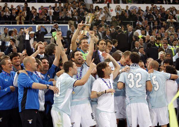 Лацио стал обладателем Кубка Италии